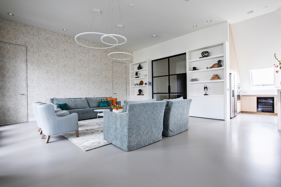 Daacha particulier project penthouse in Bussum