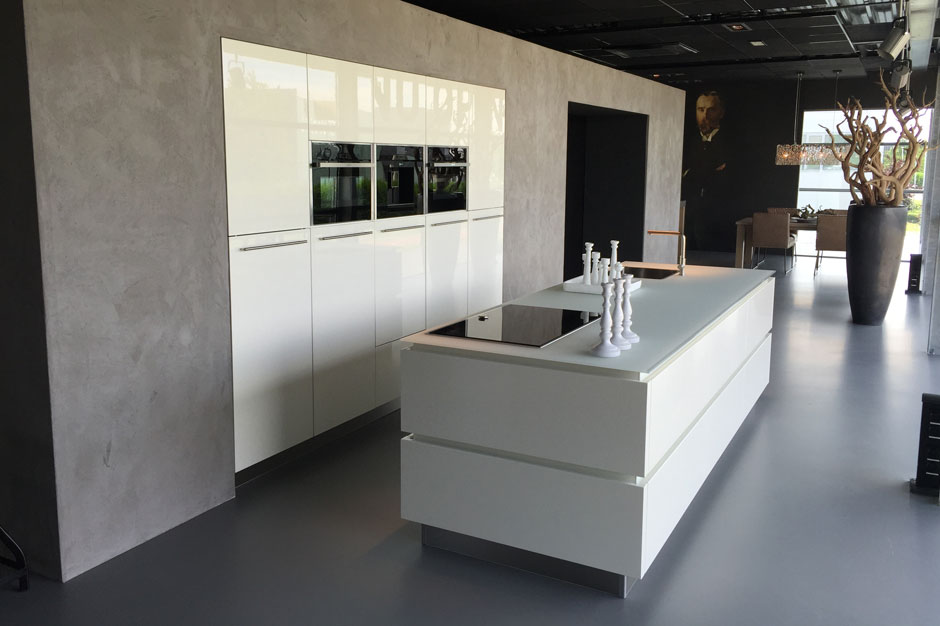 Daacha zakelijk project showroom Kitchen Concepts